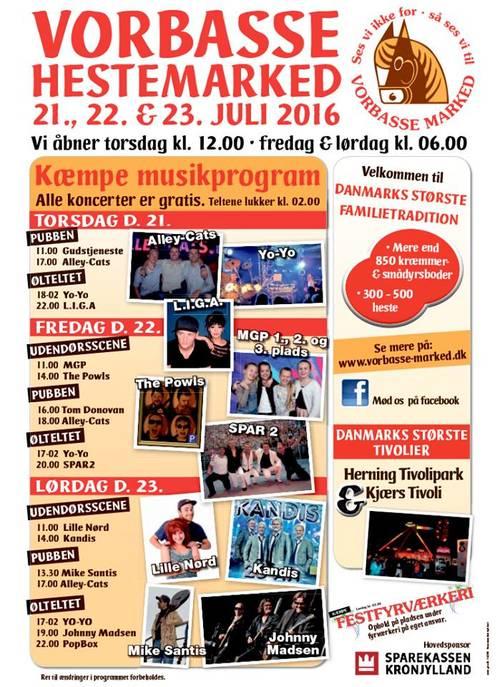 vorbasse marked program 2016