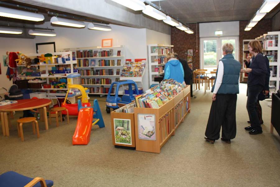 grindsted bibliotek udlån